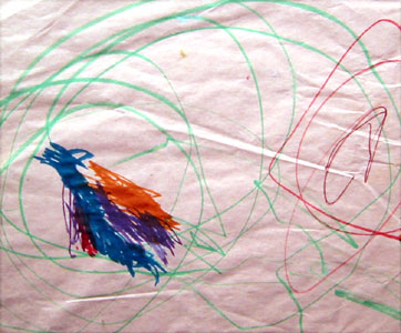 Scribble Drawing For Kids : Dave saunders learning from kids