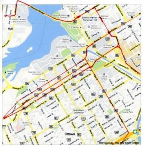 Ottawa Subway Map.Optimizing Ottawa S Transit System